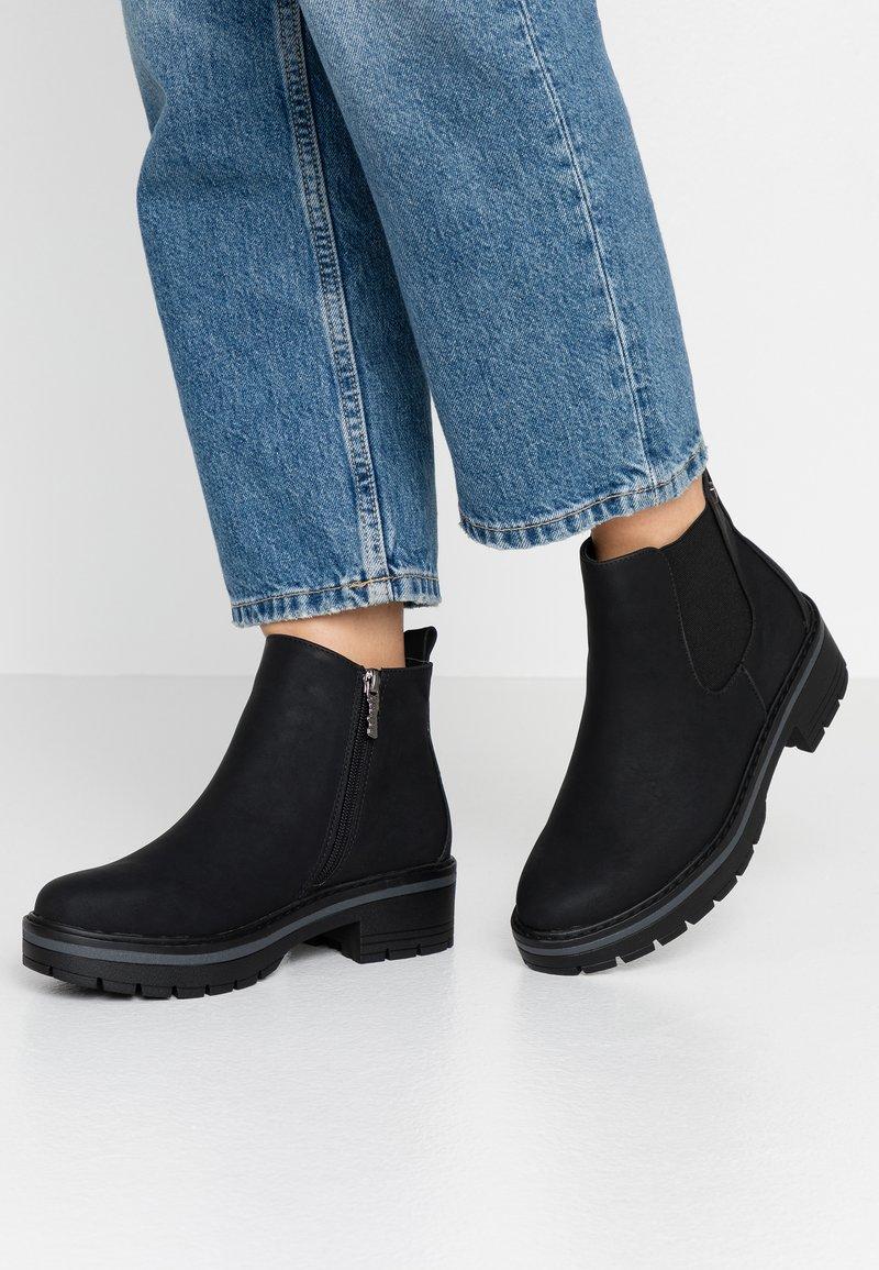 Refresh - Kotníková obuv - black