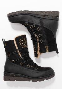 Refresh - Kotníkové boty na platformě - black - 3