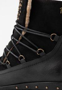 Refresh - Kotníkové boty na platformě - black - 2