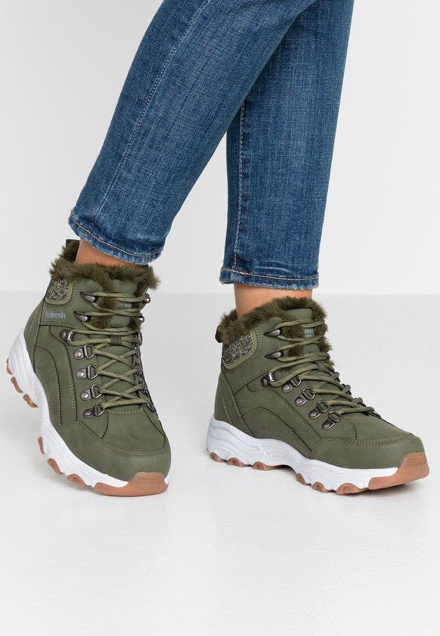 Ankle Boot - khaki