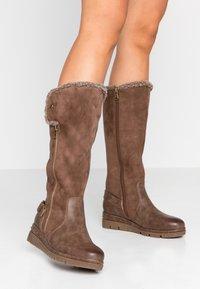 Refresh - Platform boots - marron - 0