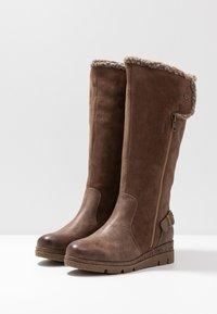 Refresh - Platform boots - marron - 3