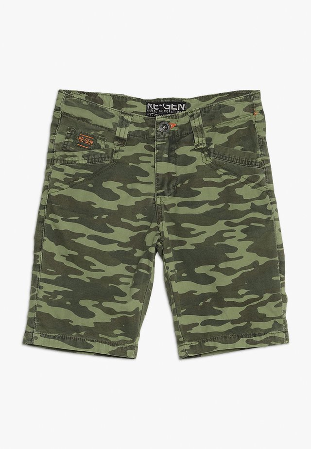 TEENS PANTS - Shorts - burnt olive