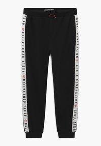Re-Gen - TEEN BOYS - Pantalon de survêtement - black - 0