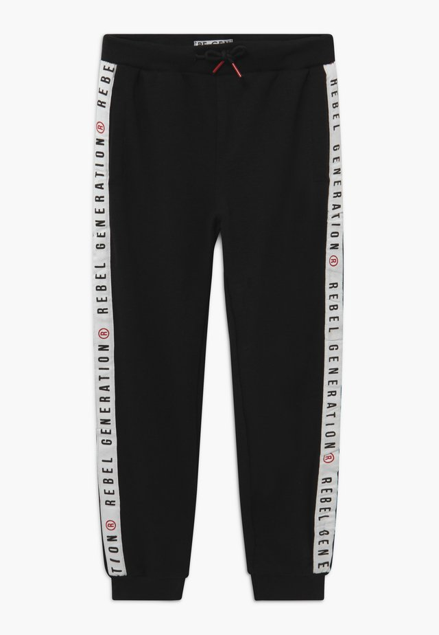 TEEN BOYS - Pantalon de survêtement - black