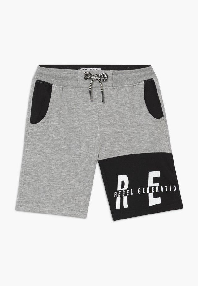 TEEN BOYS BERMUDA - Spodnie treningowe - grey
