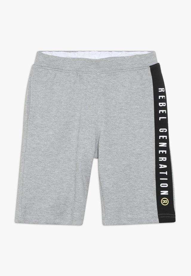 TEEN BOYS BERMUDA - Trainingsbroek - grey