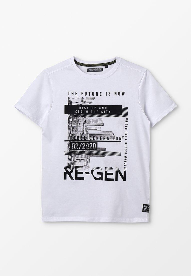 Re-Gen - T-shirts print - optical white