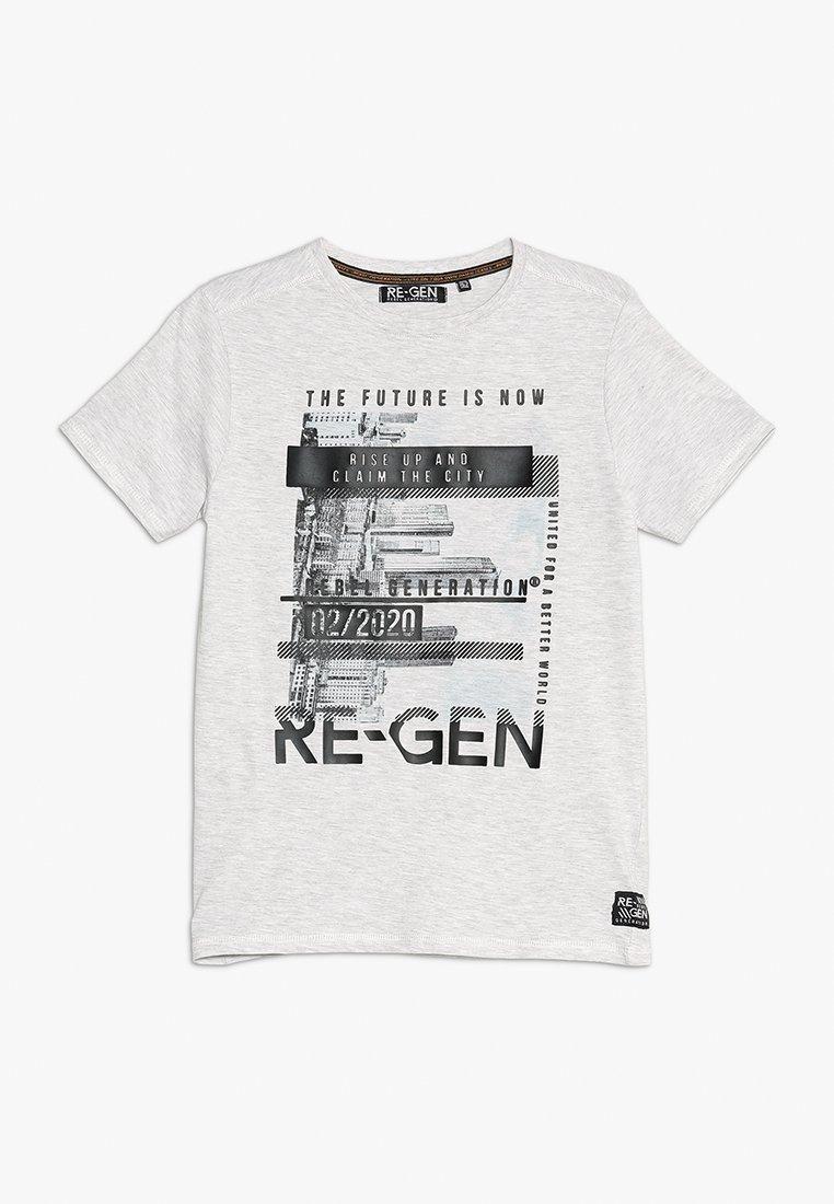 Re-Gen - T-shirt imprimé - light grey melange