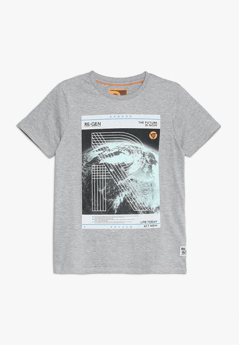 Re-Gen - TEENS - T-shirt imprimé - grey melange