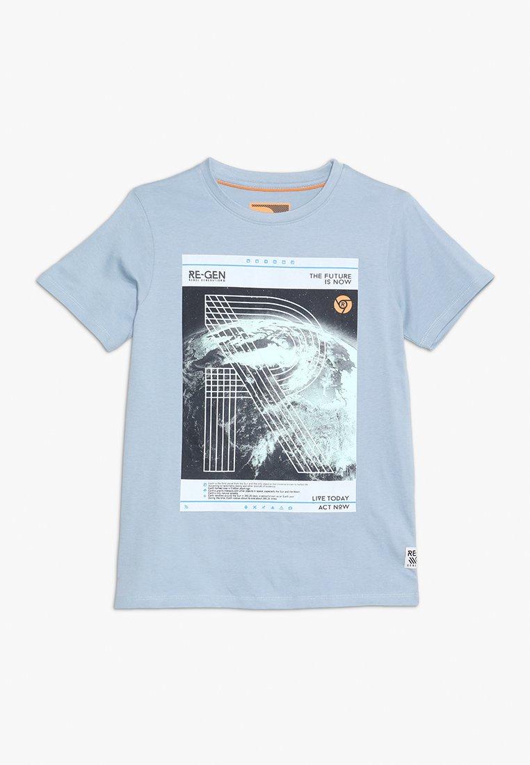 Re-Gen - TEENS - T-shirts print - ashley blue