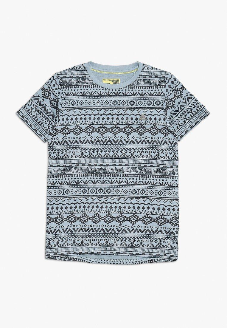 Re-Gen - TEENS - Print T-shirt - ashley blue