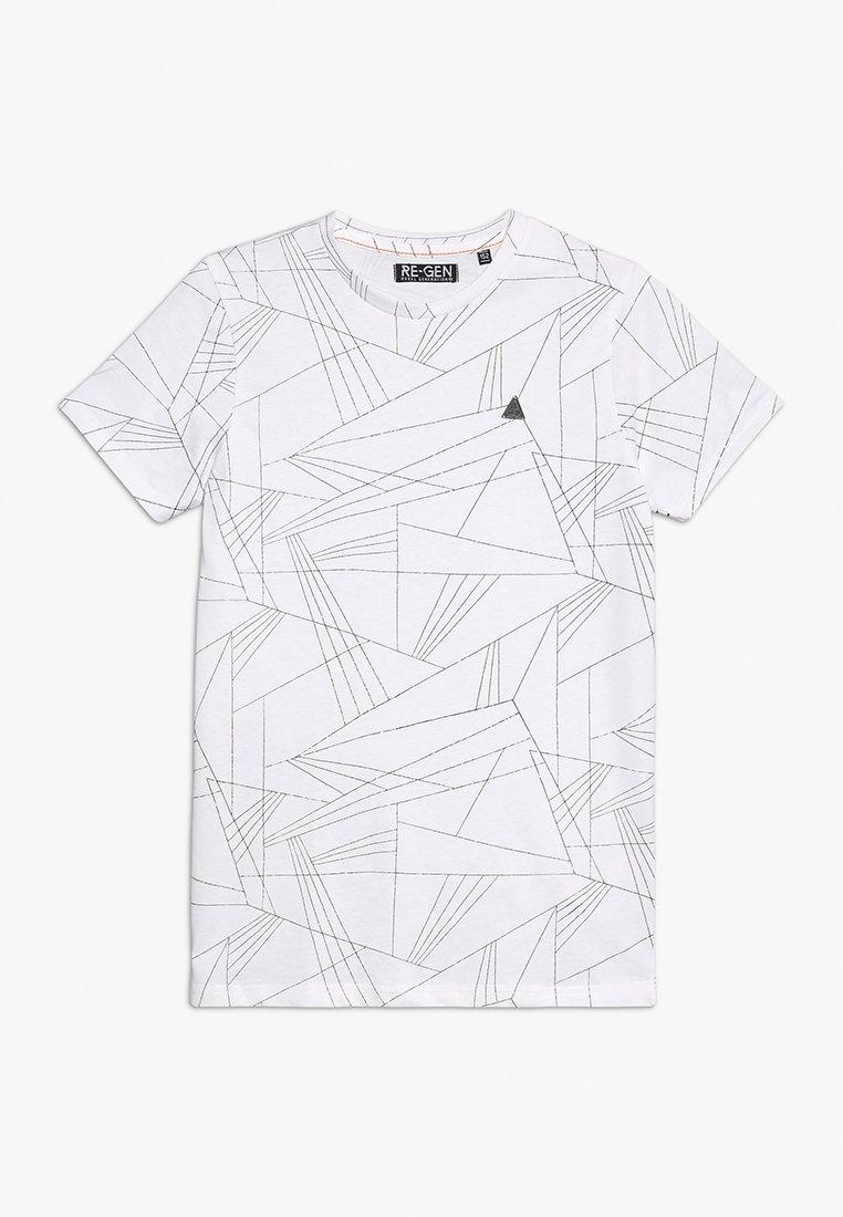Re-Gen - TEENS - T-Shirt print - optical white
