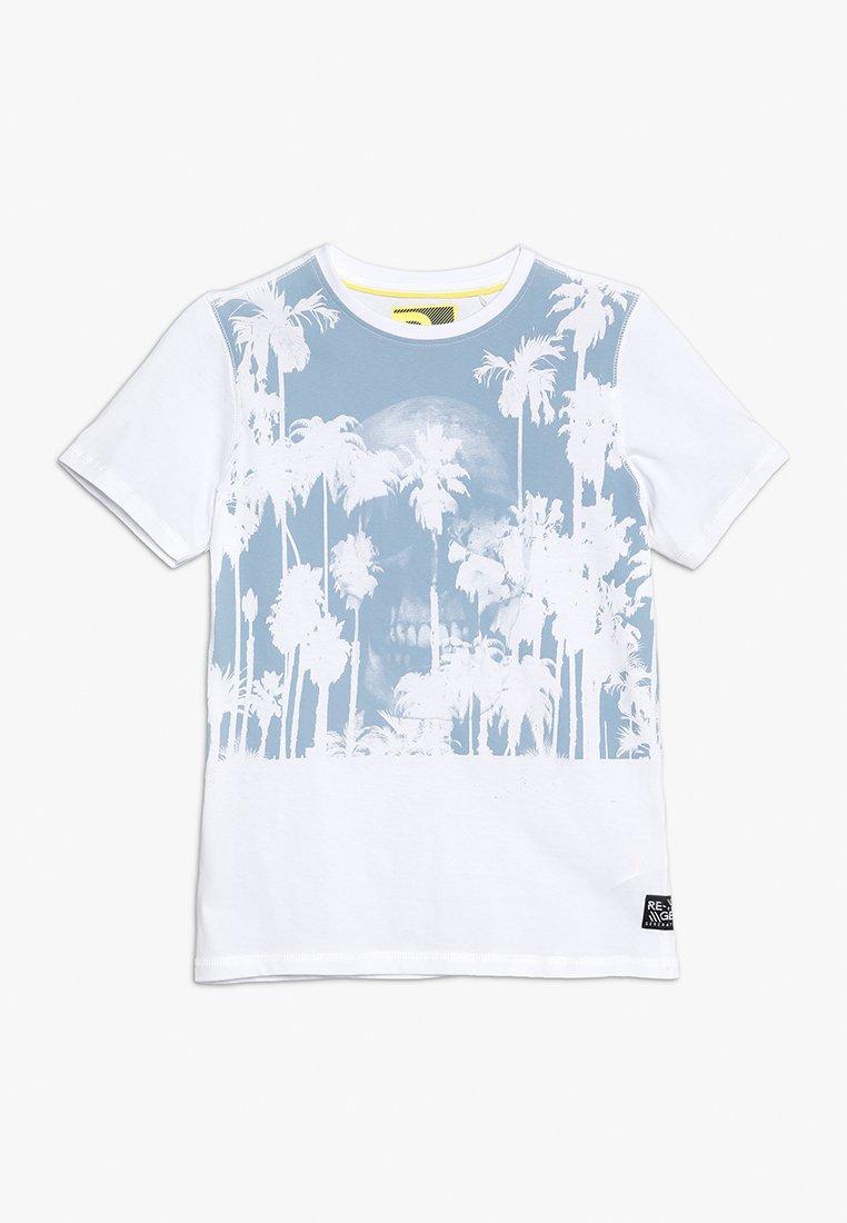 Re-Gen - TEENS  - T-shirts print - optical white