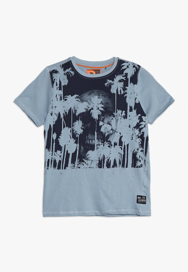TEENS  - T-shirt print - ashley blue