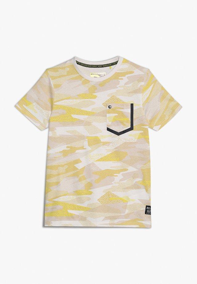TEENS - T-shirt med print - blazing yellow
