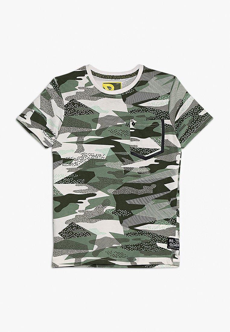 Re-Gen - TEENS - Print T-shirt - basil