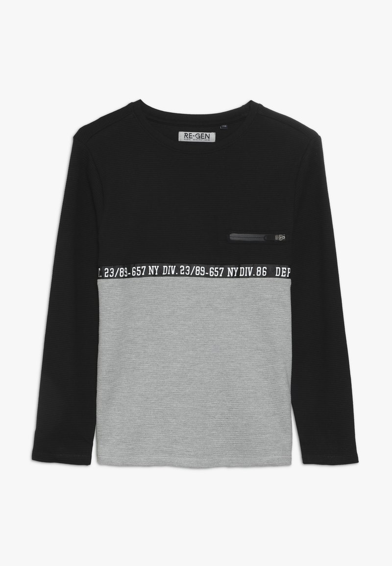 Re-Gen - BOYS LONGSLEEVE - Langærmede T-shirts - black