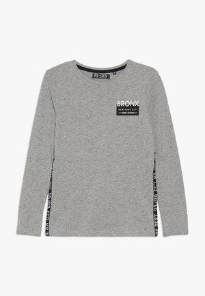 BOYS LONGSLEEVE - Camiseta de manga larga - grey melange