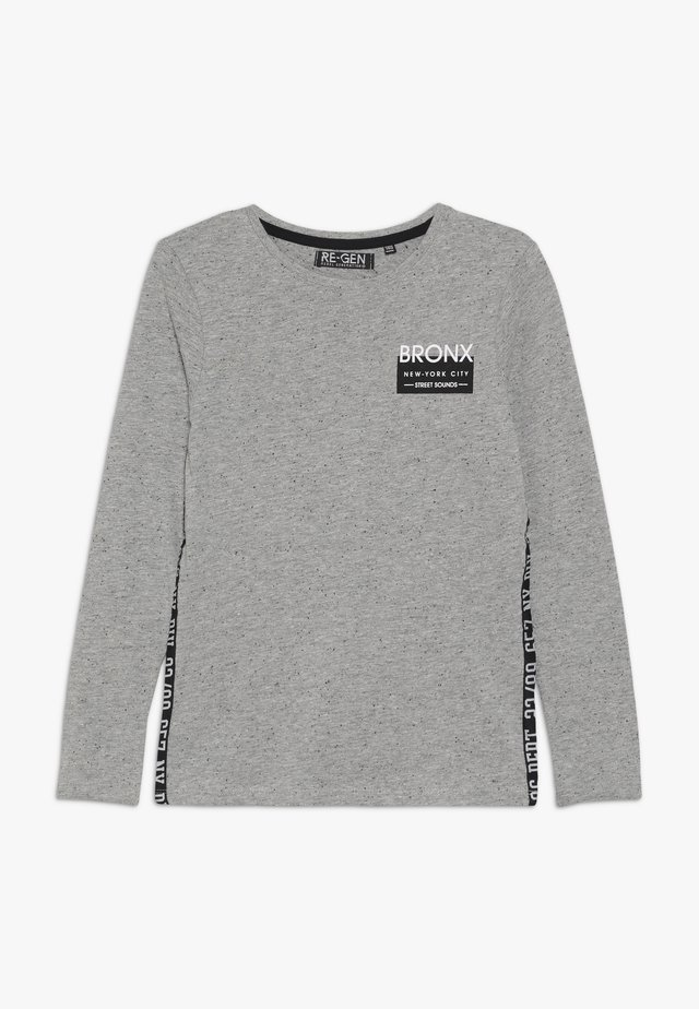 BOYS LONGSLEEVE - Bluzka z długim rękawem - grey melange