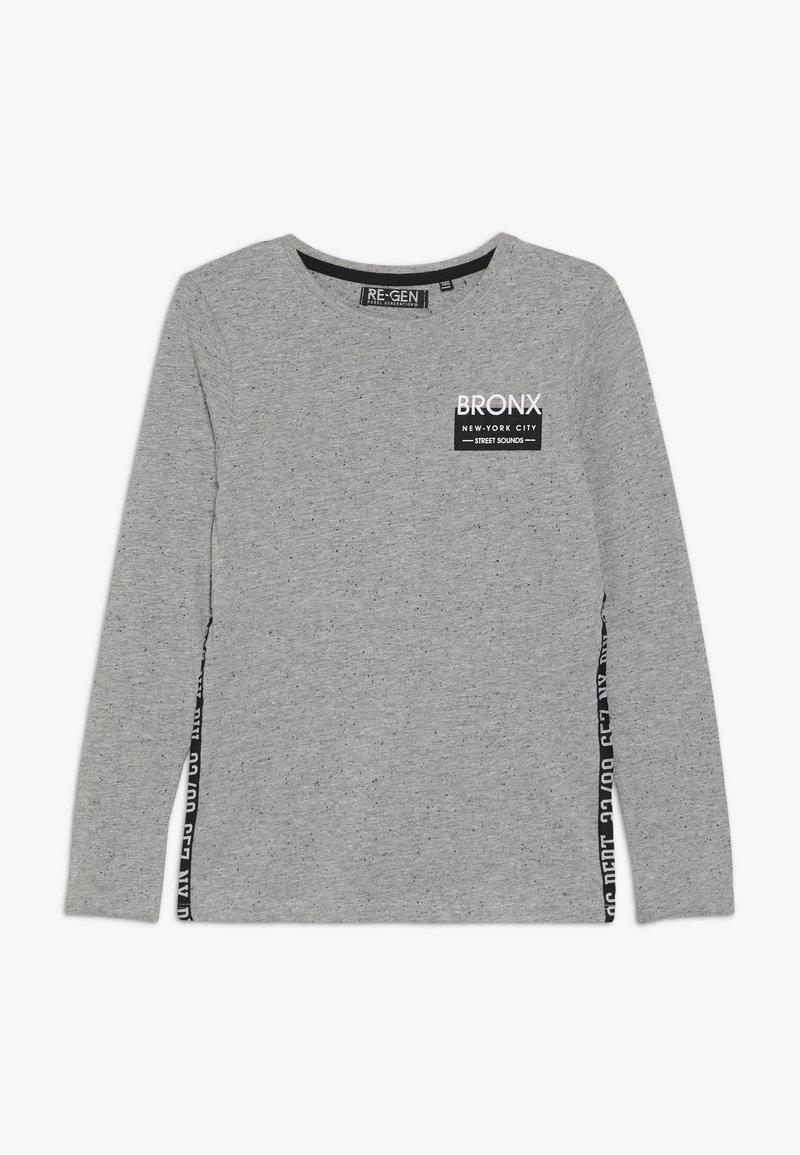 Re-Gen - BOYS LONGSLEEVE - Camiseta de manga larga - grey melange