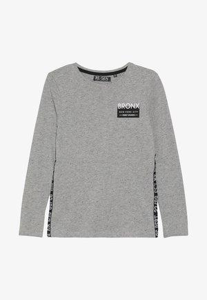 BOYS LONGSLEEVE - T-shirt à manches longues - grey melange