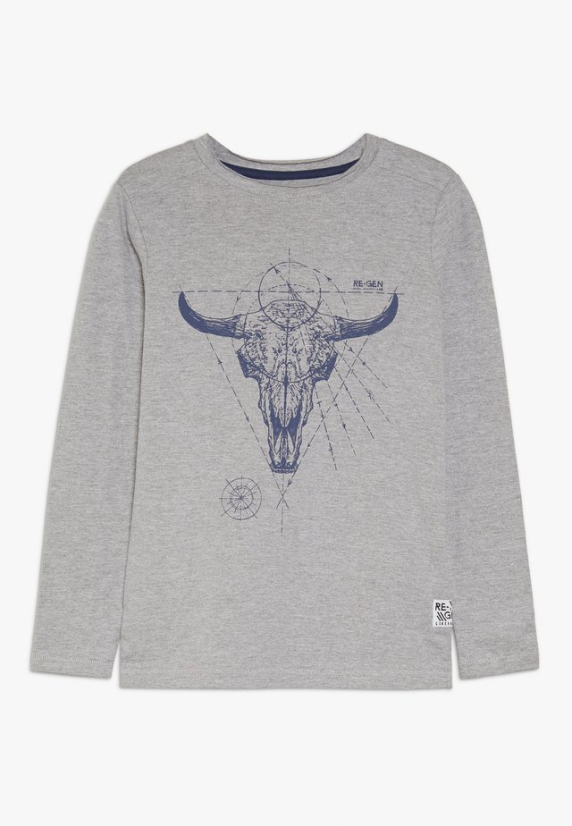 BOYS LONGSLEEVE - Langarmshirt - grey melange