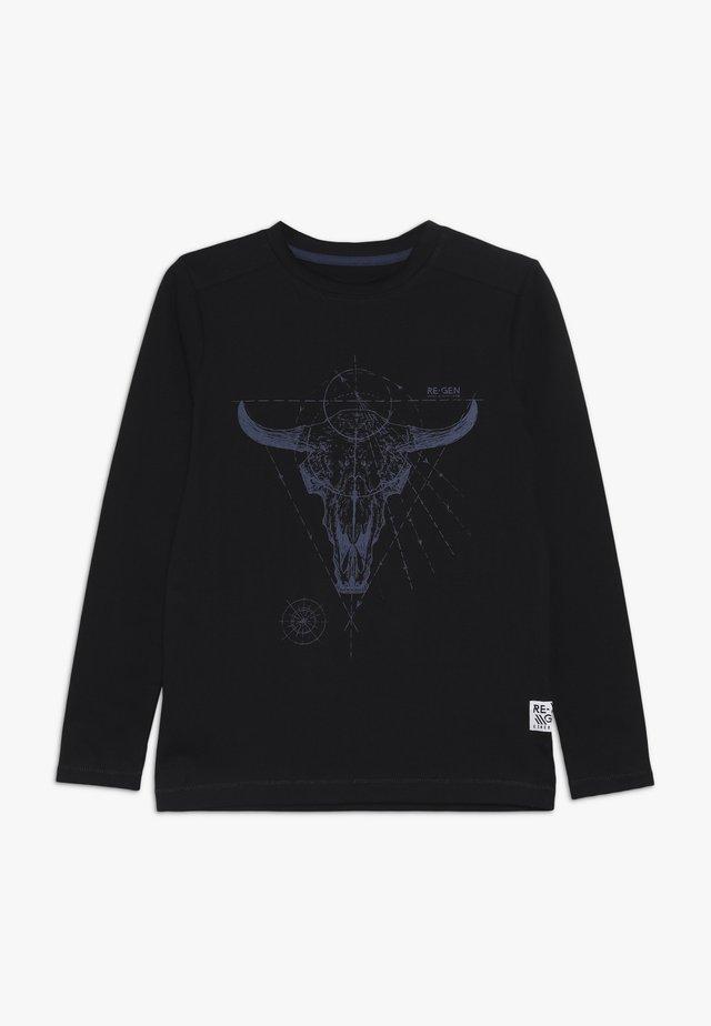 BOYS LONGSLEEVE - Long sleeved top - black