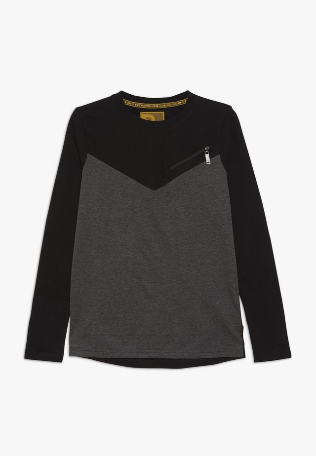 BOYS LONGSLEEVE - Långärmad tröja - dark grey melange