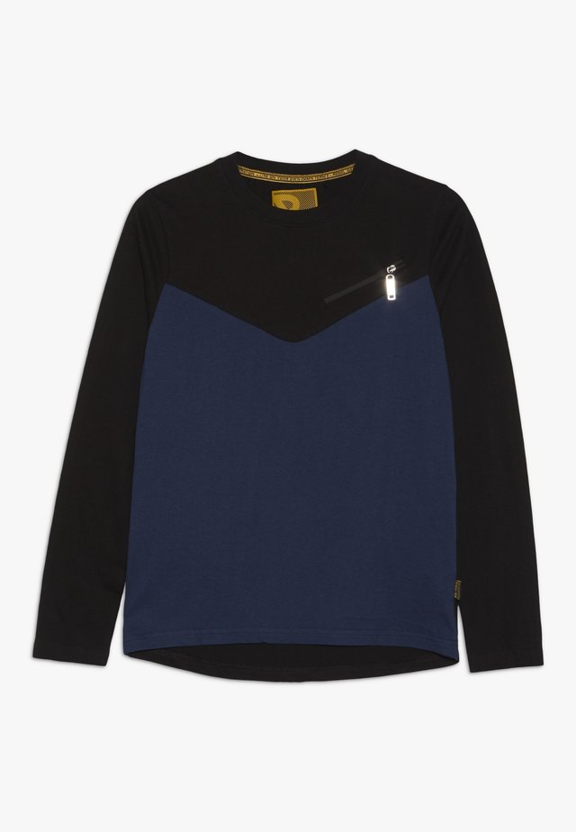 BOYS LONGSLEEVE - Bluzka z długim rękawem - insignia blue