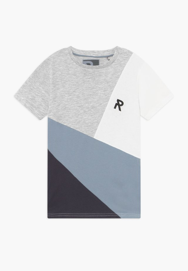 TEEN BOY REPEAT - Print T-shirt - ashley blue