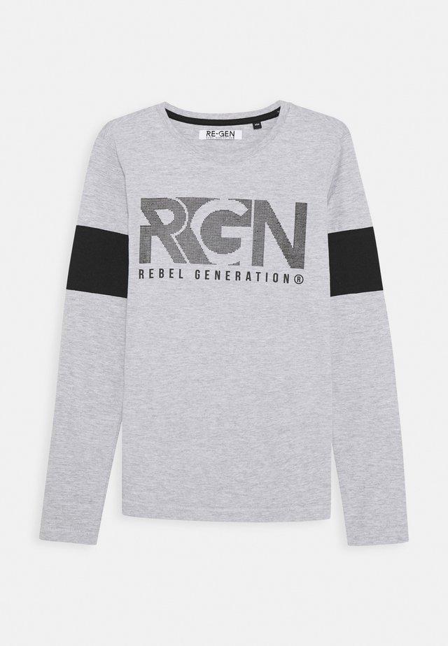 Langarmshirt - grey melange