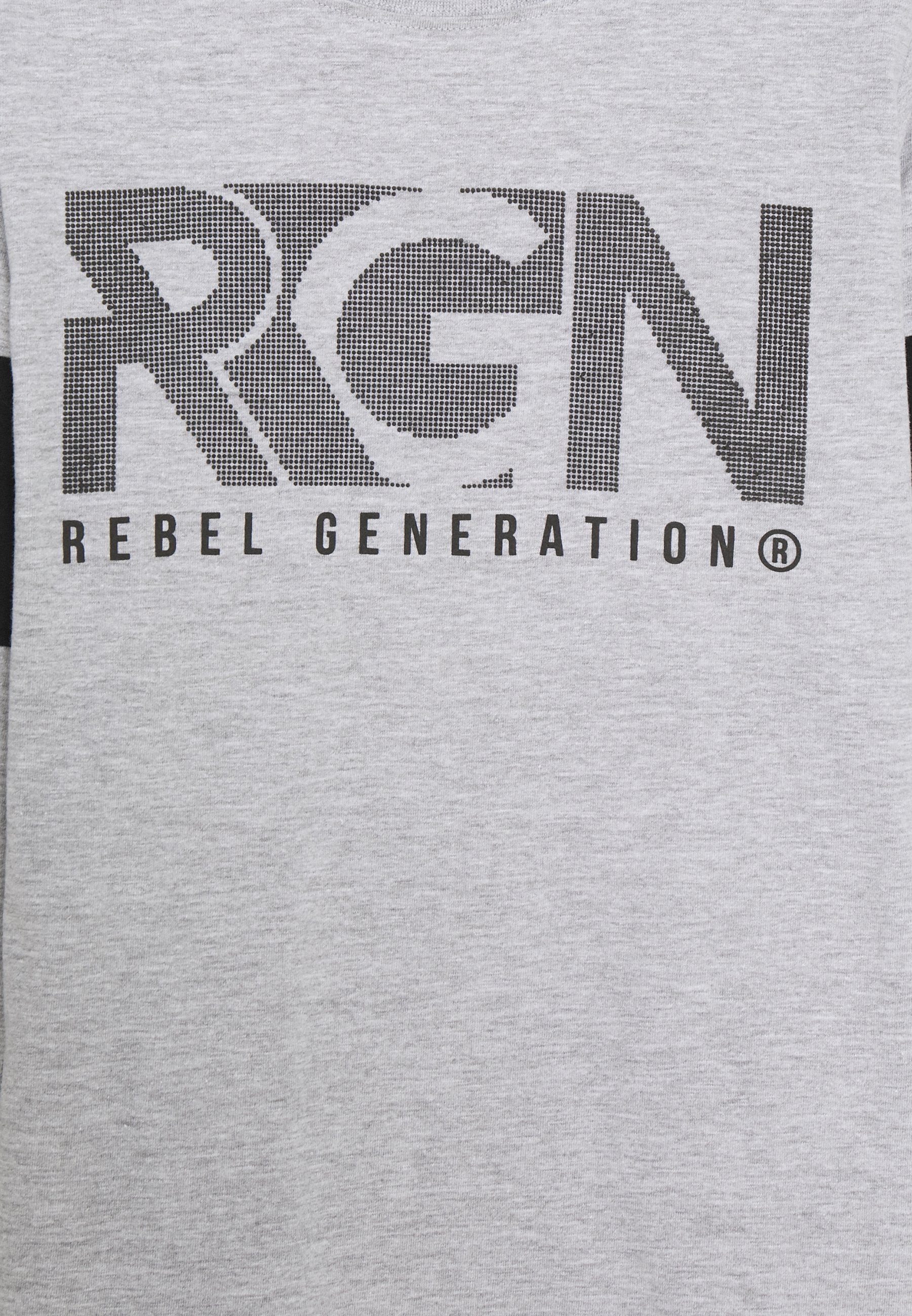 Re Gen T shirt à manches longues grey melange ZALANDO.FR