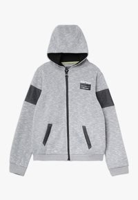 Re-Gen - Felpa aperta - grey/white as swatch - 0