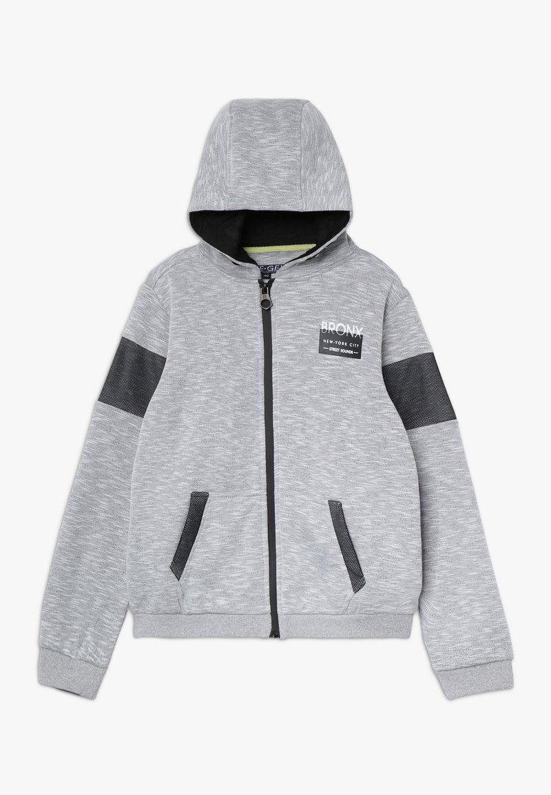Re-Gen - Felpa aperta - grey/white as swatch