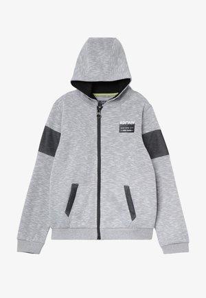 Mikina na zip - grey/white as swatch