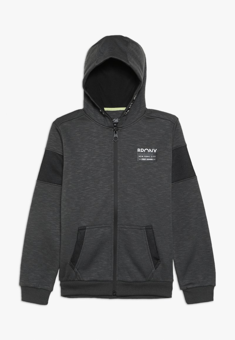 Re-Gen - Sweatjacke - dark grey melange