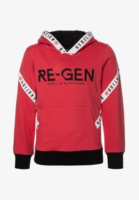 Re-Gen - TEEN BOYS  - Sweat à capuche - poinsetta - 0