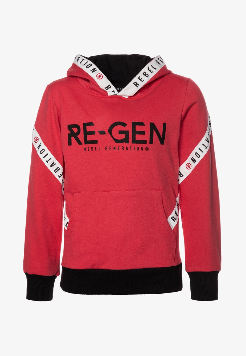 Re-Gen - TEEN BOYS  - Sweat à capuche - poinsetta