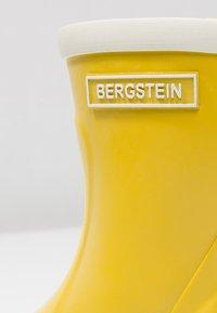 Bergstein - RAINBOOT - Bottes en caoutchouc - yellow - 5
