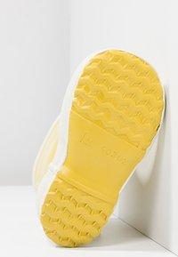 Bergstein - RAINBOOT - Bottes en caoutchouc - yellow - 4