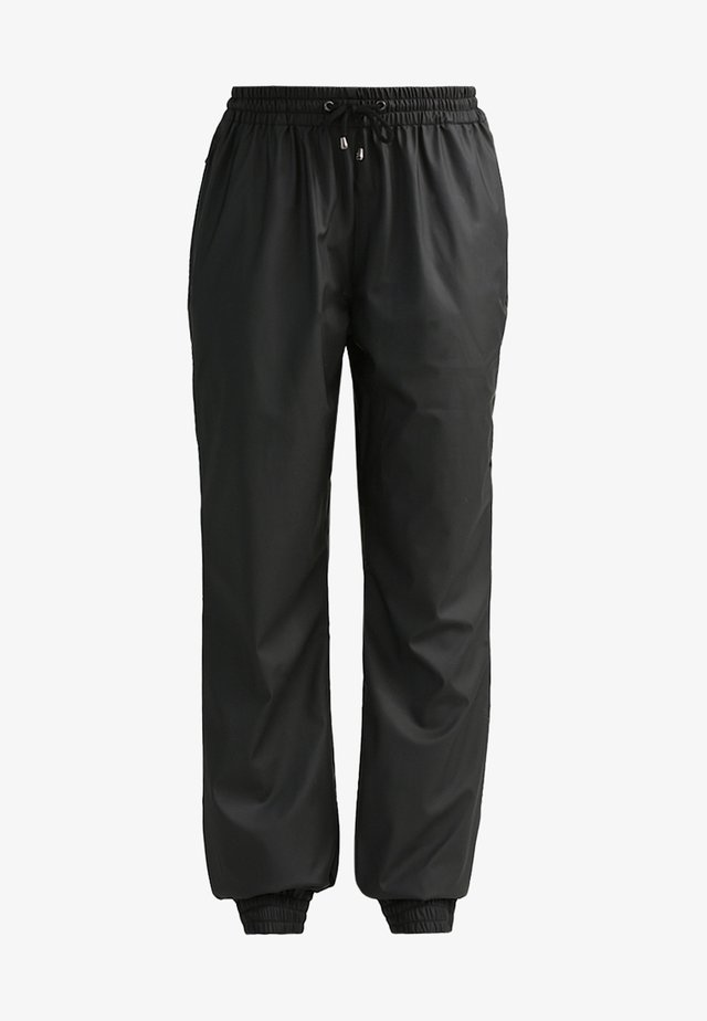 UNISEX TROUSERS - Trainingsbroek - black