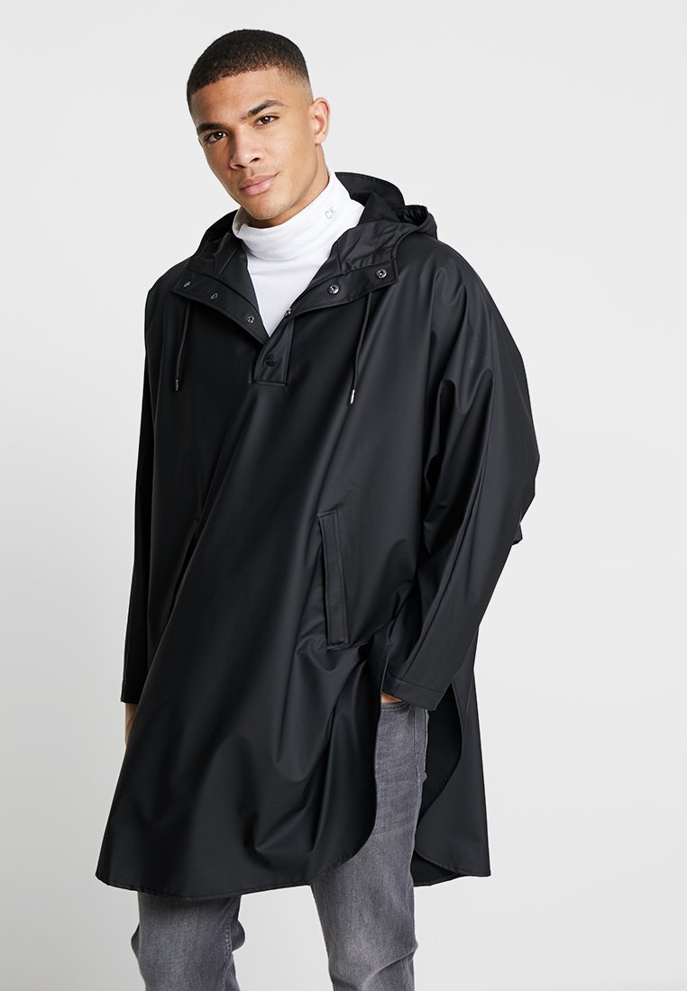 Rains - Parkaer - black