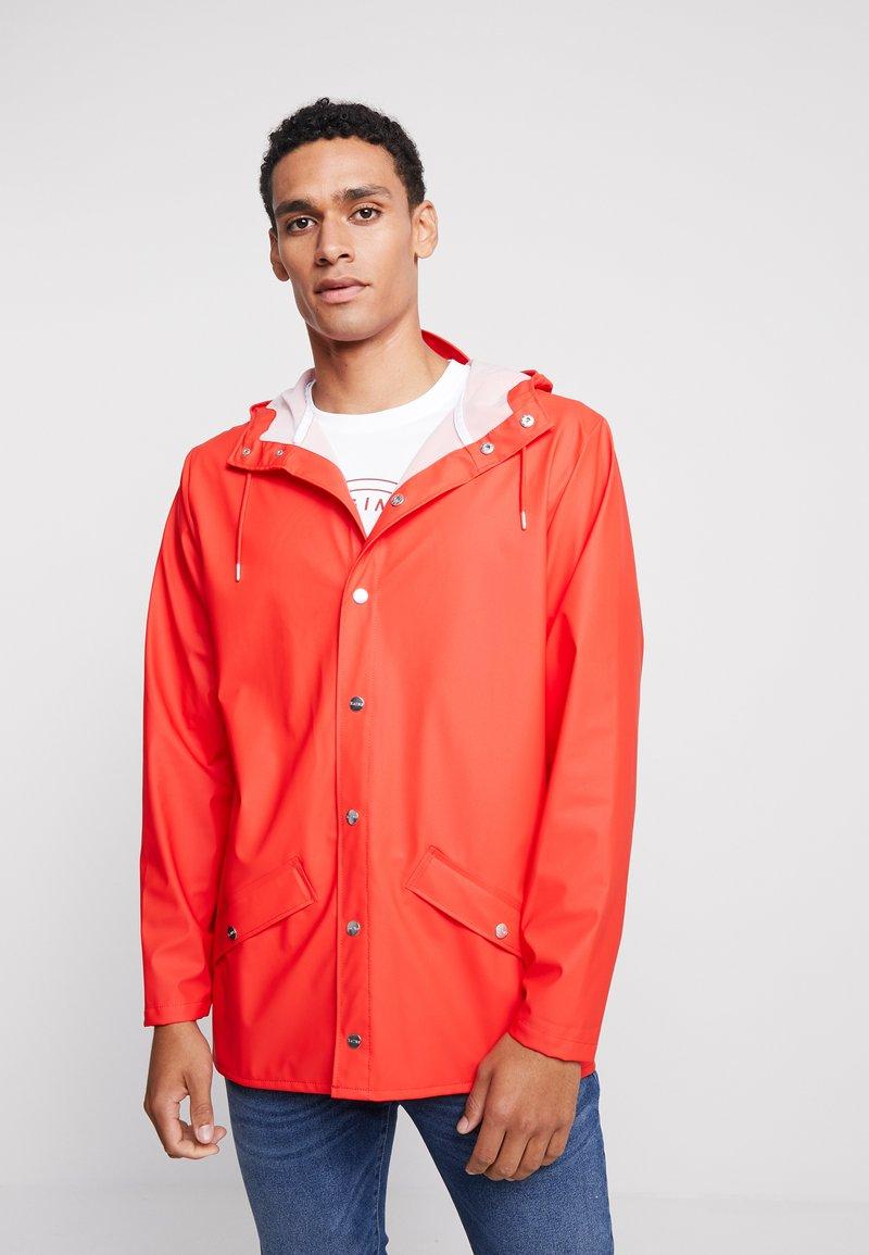 Rains - JACKET - Regenjacke / wasserabweisende Jacke - red