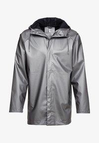 Rains - SHORT COAT - Regenjas - metallic charcoal - 5