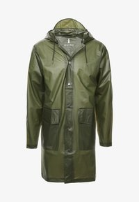 Rains - UNISEX HOODED COAT - Impermeabile - foggy green - 5