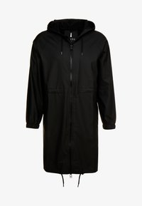 Rains - UNISEX LONG JACKET - Parka - black - 5