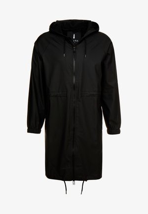 UNISEX LONG JACKET - Parka - black