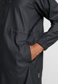 Rains - UNISEX LONG JACKET - Parka - black - 3