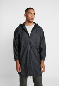 Rains - UNISEX LONG JACKET - Parka - black - 0